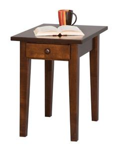 Amish Handcrafted Petite Shaker End Table