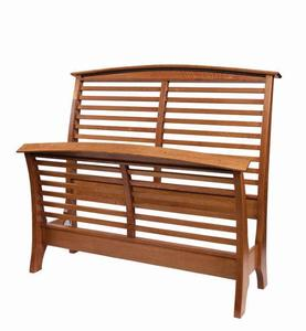 Amish Bahama Breeze Slat Bed