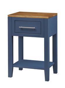 Amish Tuscany One-Drawer Night Stand with Bottom Shelf