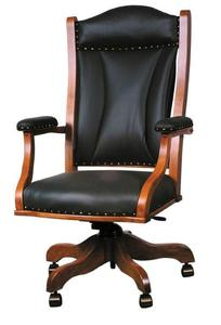 Amish Lexington Desk Chair