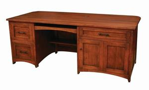 Amish Montgomery Office Executive Desk
