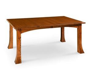 Amish Breckenridge Mission Leg Table