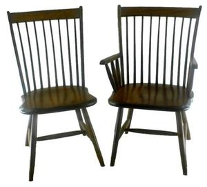 Amish Lansing Birdcage Windsor Dining Chair