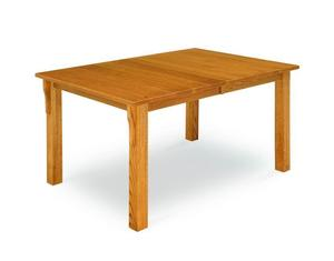 Amish Leg Mission Dining Table