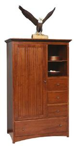 Amish Tall Shaker Armoire