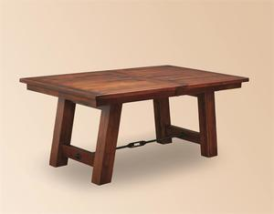 Amish Ouray Trestle Table