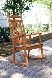 Amish Pine Wood Classic Porch Rocker