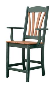 Amish Poly Balcony Arm Chair