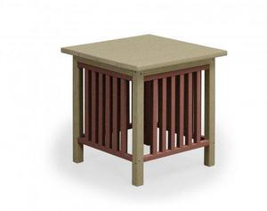Finch Poly Mission End Table