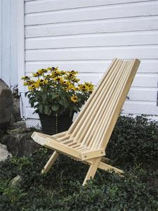 Amish Handcrafted Cypress Outdoor Cricket Chair