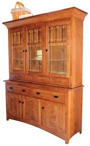 Amish Mission Bellingham Buffet with Hutch Top