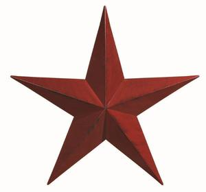 "Amish Extra Large Custom Painted 53"" Barn Star"