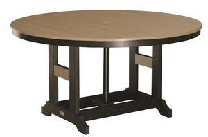 """Berlin Gardens Garden Classic 60"""" Round Poly Counter Table"""