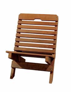 Amish Cedar Fisherman's Folding Chair
