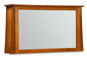 Amish Rockefeller Two Way Mirror for Flat Screen TV