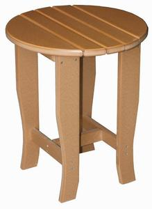 Amish Seaside Round Poly Composite End Table