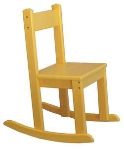 Amish Seaside Children's Poly Composite Rocker Chair