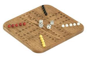 Amish Oak Wood Aggravation Game 3-4 Players