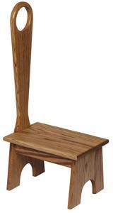 Amish Hardwood Bench with Handle
