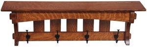 """Amish Hardwood 36"""" Aspen Mission Shelf"""