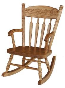 Amish Morgantown Legacy Kids' Rocking Chair