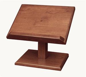 Amish Hardwood Large Cookbook Stand or Bible Stand