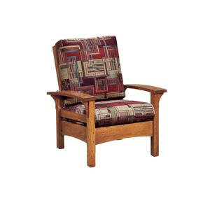 Amish Durango Mission Lounge Chair