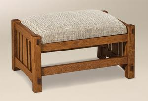 Amish McCoy Mission Footstool