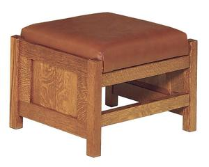 Amish Clearspring Panel Footstool
