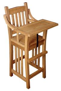 Amish Classic Mission High Chair