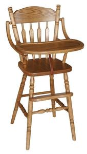 Amish Heritage Wooden High Chair