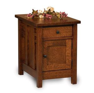 Amish Kascade Mission Closed End Table