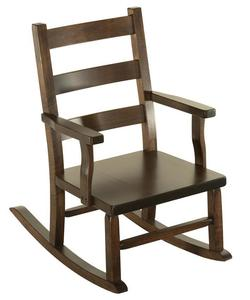Amish Elizabethtown Ladderback Kids' Rocking Chair