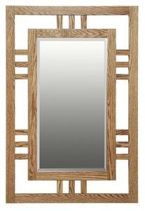 Amish Hardwood Large Modern Mission Mirror