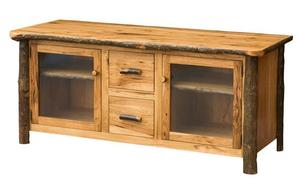 "Amish Rustic 60"" Plasma TV Console"