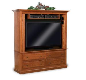 Amish Country Mission Entertainment Center