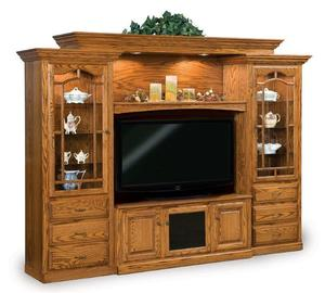 Amish Heritage Six-Piece Entertainment Center