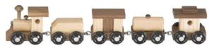 Amish Handcrafted Classic Wooden Train