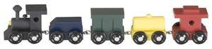 Amish Mini Classic Painted Train