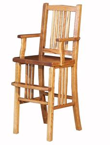 Amish Oak Mission Youth Chair