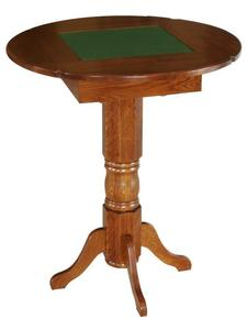 Amish Hardwood Pub Size Game Table
