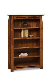 Amish Boulder Creek Mission Bookcase
