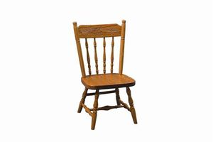 Amish Spindle Acornback Kids Chair