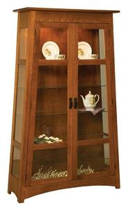 Amish Atwood Curio Cabinet