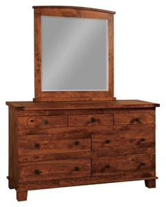 Amish Juno Dresser with Seven Drawers