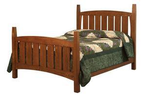 Amish Jadon Mission Bed