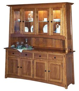 Amish McCoy Hutch with Four Doors
