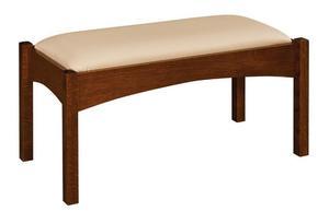 "Amish 36"" Bedroom Bench"