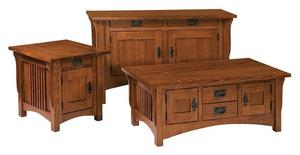 Amish Logan Large End Table