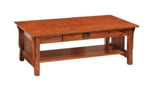 Amish Leah Mission Coffee Table - Quick Ship